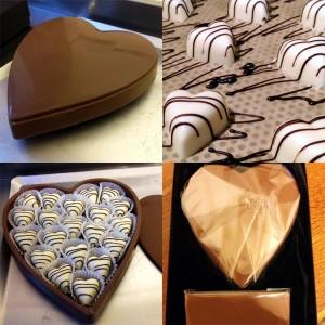 Heart chocolate box montage