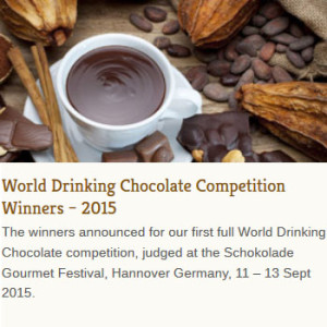 drinking chocolate competition results