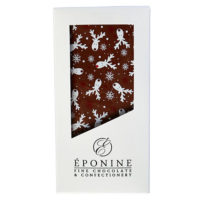 Reindeer Christmas Milk Chocolate Bar in Box