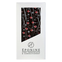 Santa Dark Chocolate Bar in Box