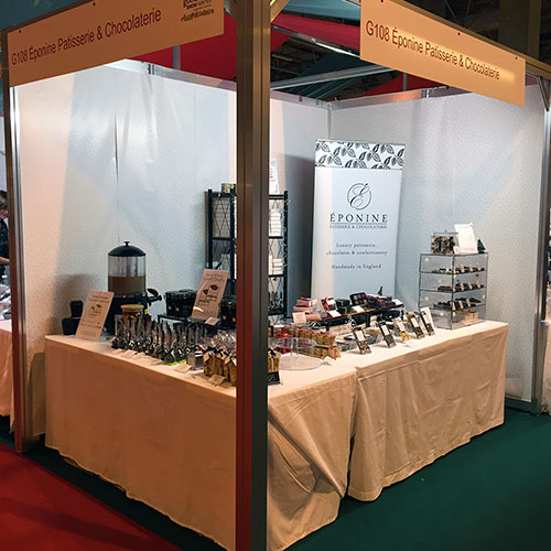 bbc good food show eponine stand
