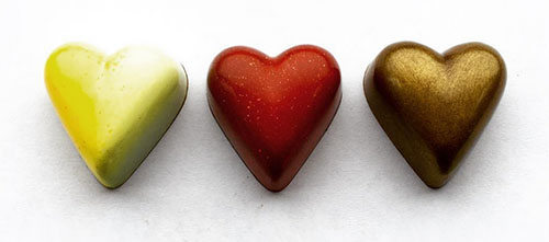 Valentine Heart Chocolates - Thin
