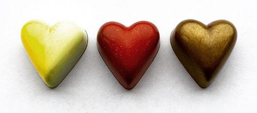 Valentine Heart Chocolates - Thin