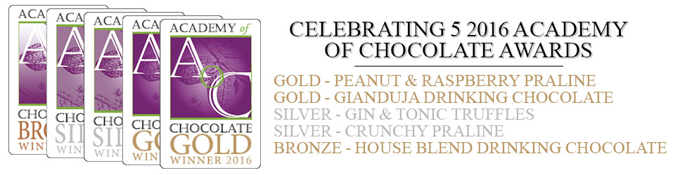 Academy of Chocolate Awards 2016 Winners Banner