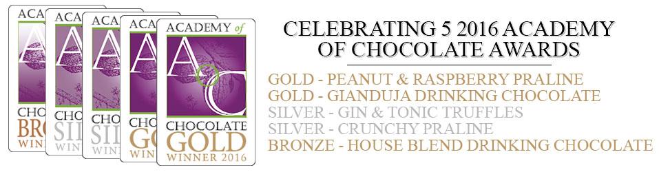Academy of Chocolate Awards 2016 Winners Banner