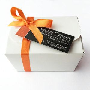 Candied Orange with Dark Chocolate Box