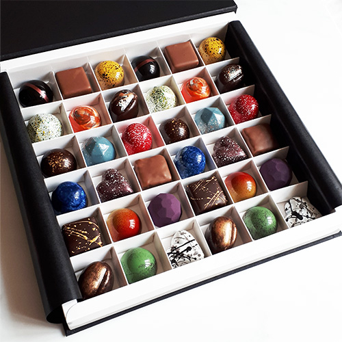 36 Piece Luxury Chocolate Selection Box Angled