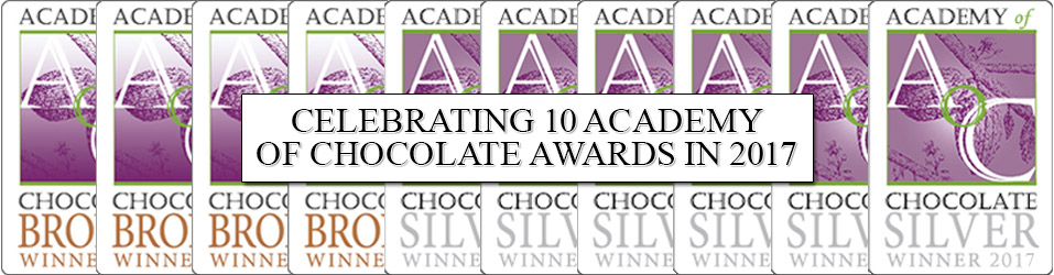 Academy of Chocolate Awards 2017 Winners Banner Image