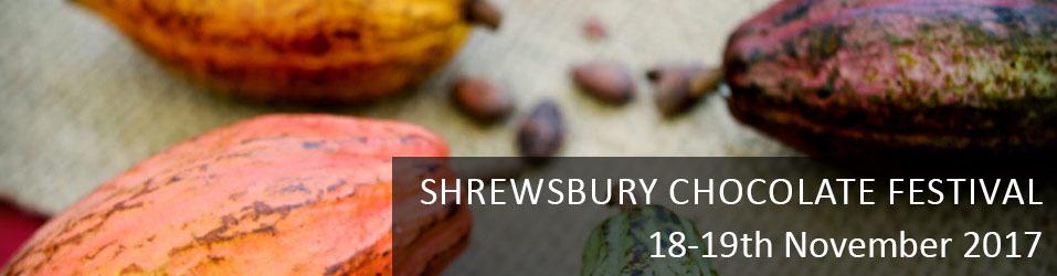 Shrewsbury Chocolate Festival 2017 Banner Image