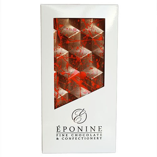 Apricot & Granola Milk Chocolate Bar in White Branded Box