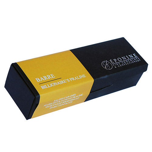 Barre - Billionaire's Praline in Box Angled