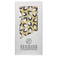 Penguin Christmas White Chocolate Bar in Box