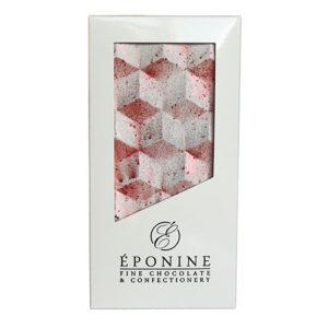 Maple Pecan Milk Chocolate Bar in White Branded Box
