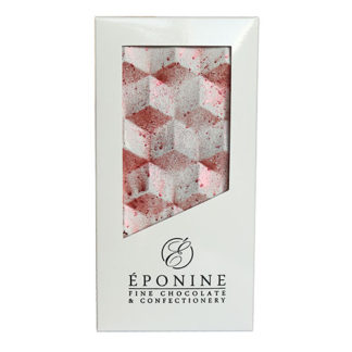 Maple Pecan Milk Chocolate Bar in White Branded Box