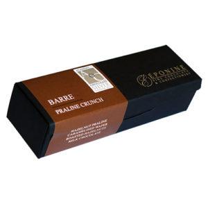 Barre - Praline Crunch in Box Angled