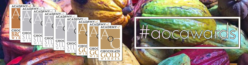 Academy of Chocolate Awards 2018 #aocawards Banner Image
