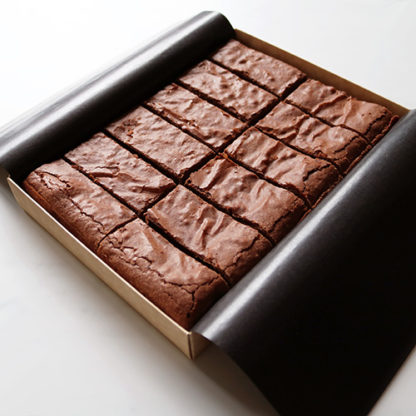 Classic Brownie Box Open Angled