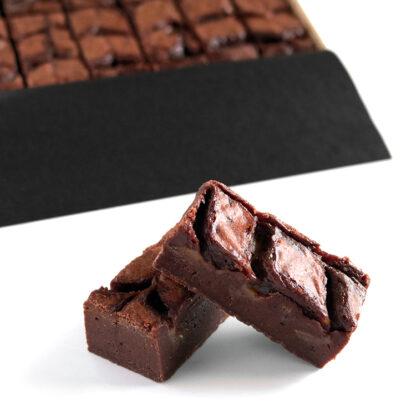 Salted Caramel Brownies Unboxed