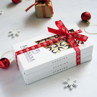 Christmas Chocolate Bar Gift Set with Decorations