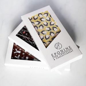 Christmas Chocolate Bars Fanned