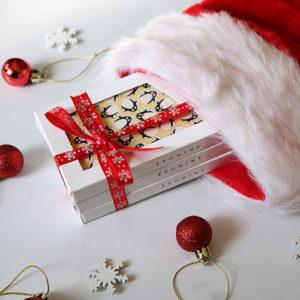 Christmas Chocolate Bar Gift Set in Stocking
