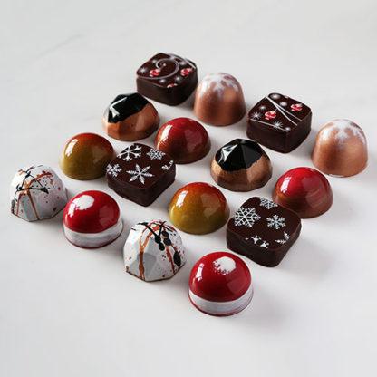 Christmas Chocolate Collection 2018 No Box Angled