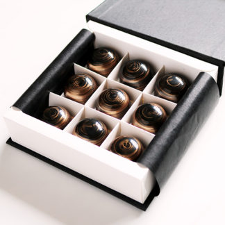 Whisky Chocolates Box Angled