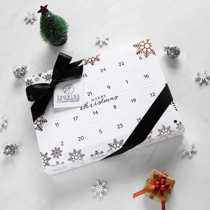 Luxury Advent Calendar with Festive Decorations Angled