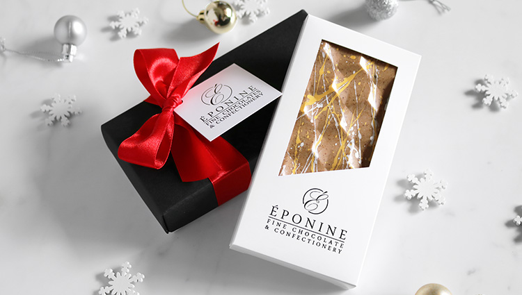 Mince Pie Bonbons and Chocolate Bar