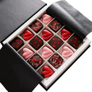 Valentine's Chocolate Collection Overhead
