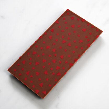 Valentine's Heart Milk Chocolate Bar No Box